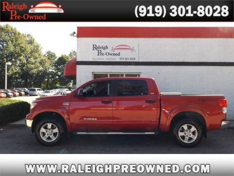 2012 Toyota Tundra for sale at Raleigh Pre-Owned in Raleigh NC
