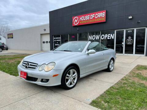 2006 Mercedes-Benz CLK for sale at HOUSE OF CARS CT in Meriden CT