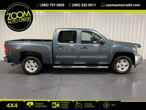 2012 Chevrolet Silverado 1500 for sale at ZoomAutoCredit.com in Elba NY