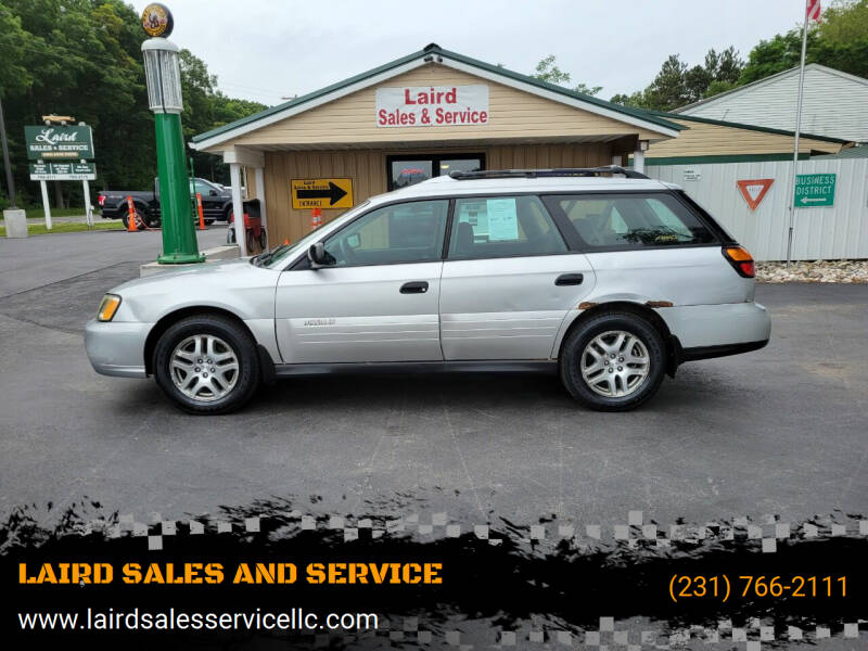 2004 Subaru Outback for sale at LAIRD SALES AND SERVICE in Muskegon MI