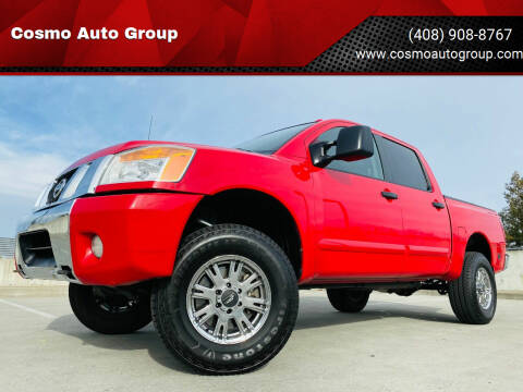 2010 Nissan Titan for sale at Cosmo Auto Group in San Jose CA