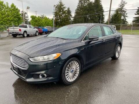 2014 Ford Fusion for sale at TacomaAutoLoans.com in Lakewood WA