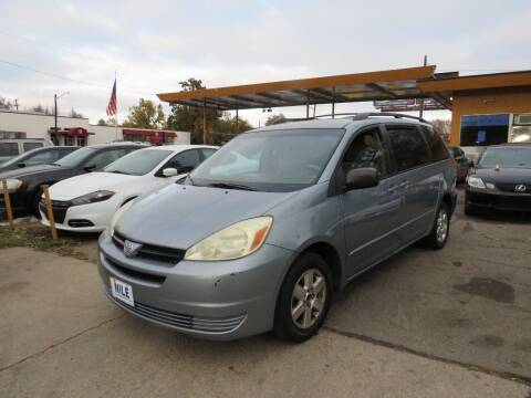2004 Toyota Sienna for sale at Nile Auto Sales in Denver CO