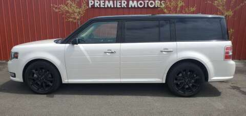 2017 Ford Flex for sale at PREMIERMOTORS  INC. in Milton Freewater OR