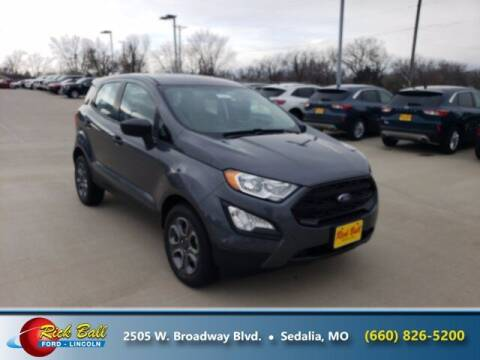 2020 Ford EcoSport for sale at RICK BALL FORD in Sedalia MO