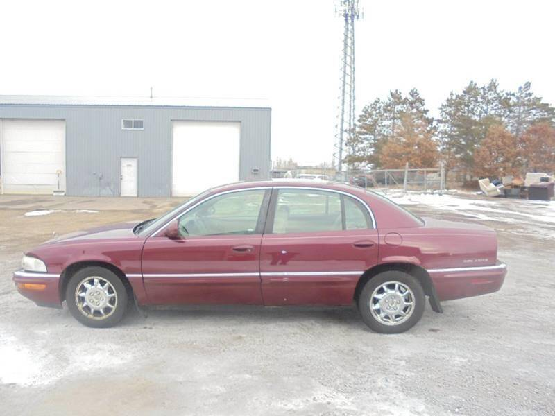2002 Buick Park Avenue for sale at Engels Autos Inc in Ramsey MN
