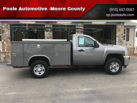 2014 Chevrolet Silverado 2500HD for sale at Poole Automotive in Laurinburg NC