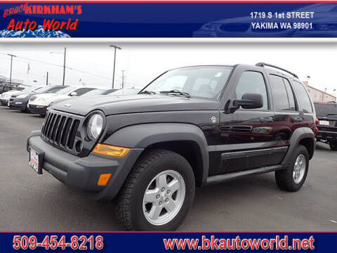 2006 Jeep Liberty for sale at Bruce Kirkham Auto World in Yakima WA