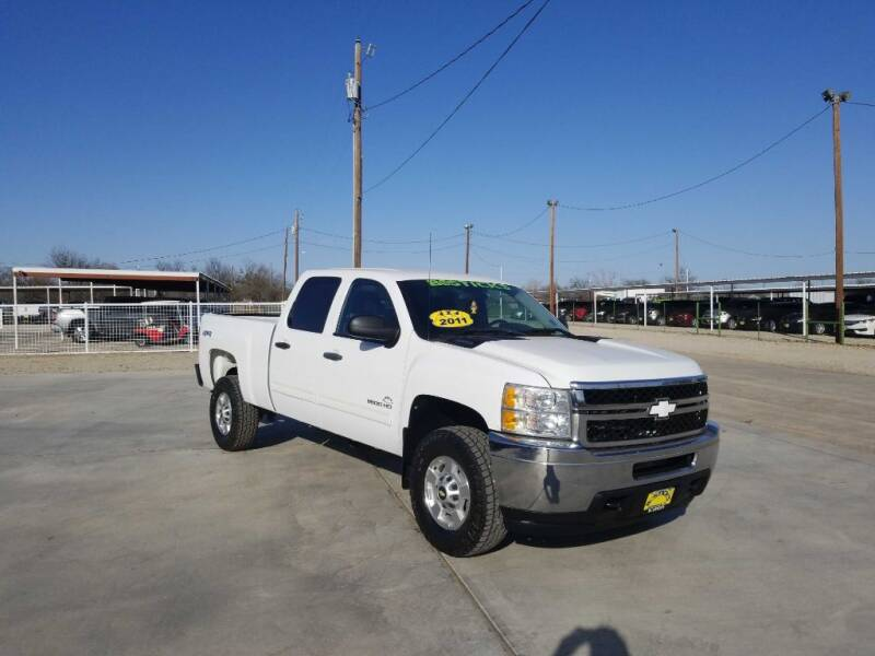 2011 Chevrolet Silverado 2500HD for sale at Bostick's Auto & Truck Sales in Brownwood TX