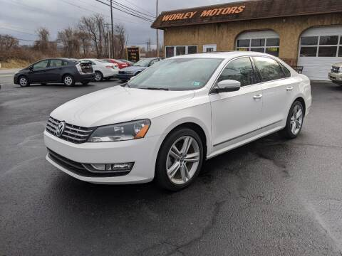 2013 Volkswagen Passat for sale at Worley Motors in Enola PA