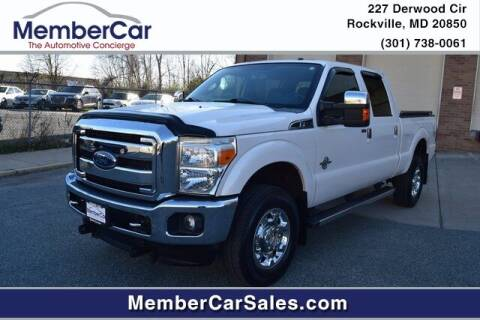 2016 Ford F-350 Super Duty for sale at MemberCar in Rockville MD