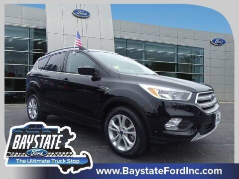 2018 Ford Escape for sale at Baystate Ford in South Easton MA