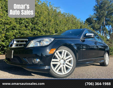 2009 Mercedes-Benz C-Class for sale at Omar's Auto Sales in Martinez GA
