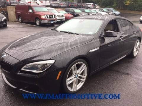 2016 BMW 6 Series for sale at J & M Automotive in Naugatuck CT