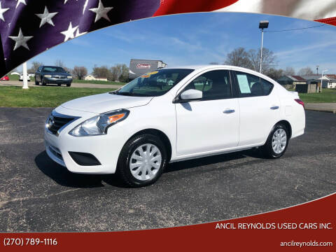 2019 Nissan Versa for sale at Ancil Reynolds Used Cars Inc. in Campbellsville KY