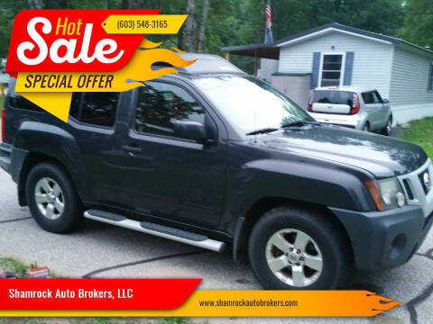 2010 Nissan Xterra for sale at Shamrock Auto Brokers, LLC in Belmont NH