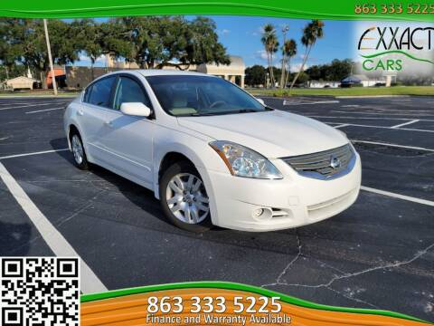 2012 Nissan Altima for sale at Exxact Cars in Lakeland FL
