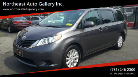 2012 Toyota Sienna for sale at Northeast Auto Gallery Inc. in Wakefield MA