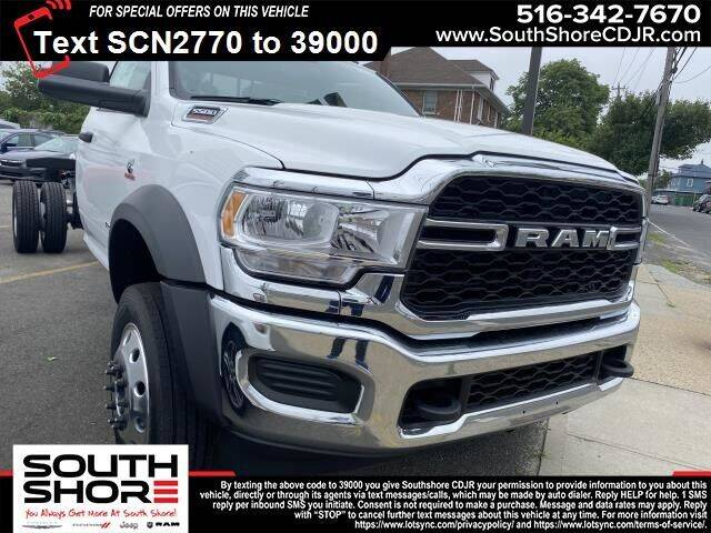 2021 RAM Ram Chassis 5500 for sale at South Shore Chrysler Dodge Jeep Ram in Inwood NY