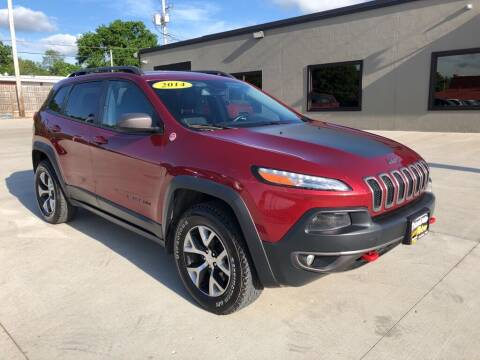 2014 Jeep Cherokee for sale at Tigerland Motors in Sedalia MO