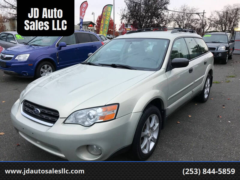 2006 Subaru Outback for sale at JD Auto Sales LLC in Fife WA