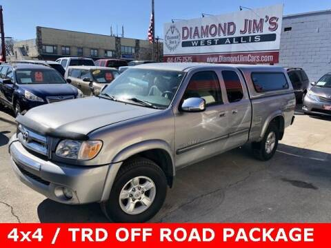 2006 Toyota Tundra for sale at Diamond Jim's West Allis in West Allis WI