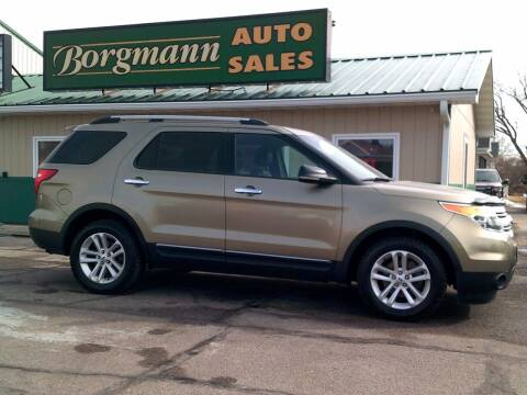 2013 Ford Explorer for sale at Borgmann Auto Sales in Norfolk NE