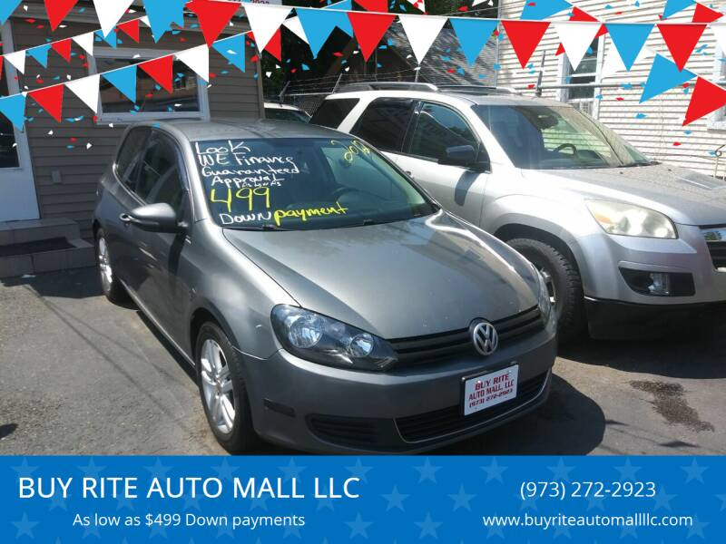 2012 Volkswagen Golf for sale at BUY RITE AUTO MALL LLC in Garfield NJ