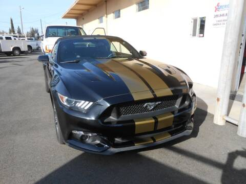 2017 Ford Mustang for sale at Armstrong Truck Center in Oakdale CA