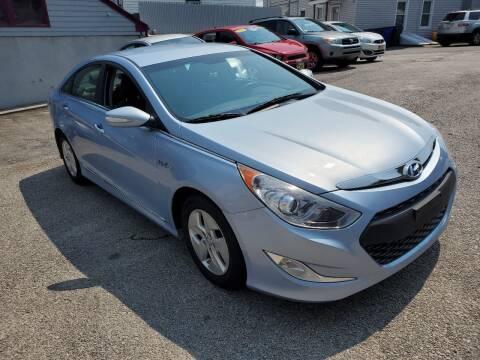 2012 Hyundai Sonata Hybrid for sale at Fortier's Auto Sales & Svc in Fall River MA