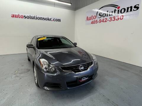 2010 Nissan Altima for sale at Auto Solutions in Warr Acres OK