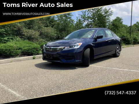 2017 Honda Accord for sale at Toms River Auto Sales in Toms River NJ