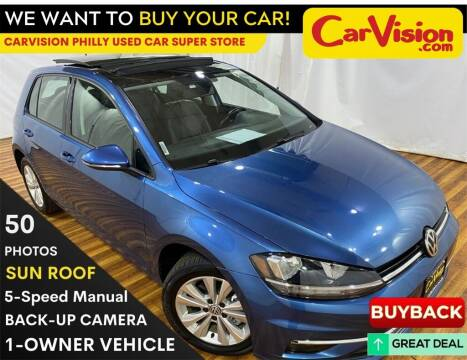 2018 Volkswagen Golf for sale at Car Vision Mitsubishi Norristown - Car Vision Philly Used Car SuperStore in Philadelphia PA