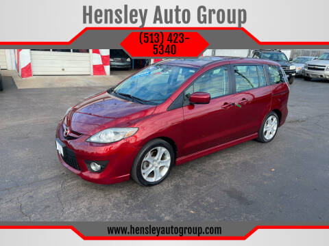 2010 Mazda MAZDA5 for sale at Hensley Auto Group in Middletown OH