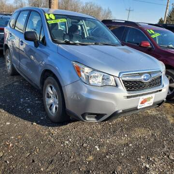 2014 Subaru Forester for sale at ALL WHEELS DRIVEN in Wellsboro PA