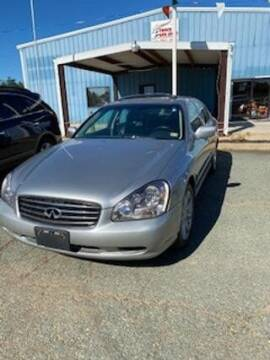 2002 Infiniti Q45 for sale at Lighthouse Truck and Auto LLC in Dillwyn VA