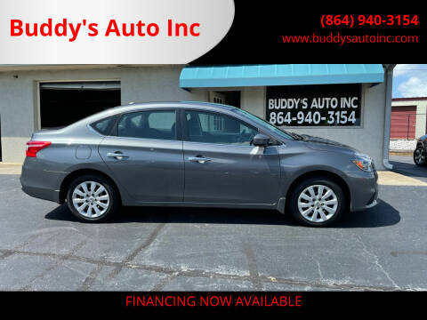 2017 Nissan Sentra for sale at Buddy's Auto Inc in Pendleton, SC