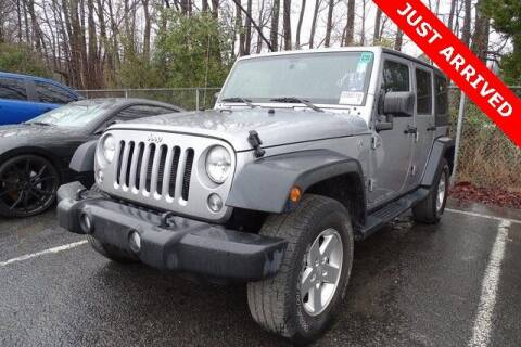 2016 Jeep Wrangler Unlimited for sale at Brandon Reeves Auto World in Monroe NC