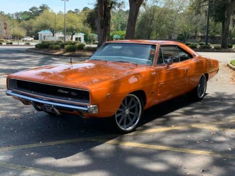 1968 Dodge Charger for sale at Classic Car Deals in Cadillac MI