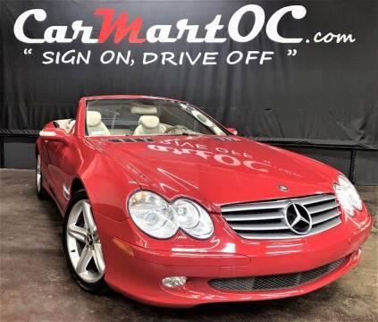 2004 Mercedes-Benz SL-Class for sale at CarMart OC in Costa Mesa CA
