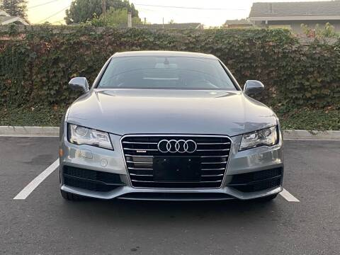 2012 Audi A7 for sale at CARFORNIA SOLUTIONS in Hayward CA