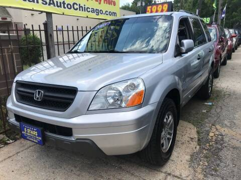 2005 Honda Pilot for sale at 5 Stars Auto Service and Sales in Chicago IL