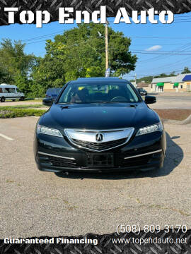 2015 Acura TLX for sale at Top End Auto in North Attleboro MA