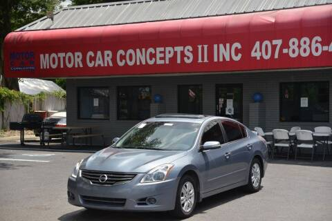 2012 Nissan Altima for sale at Motor Car Concepts II - Apopka Location in Apopka FL