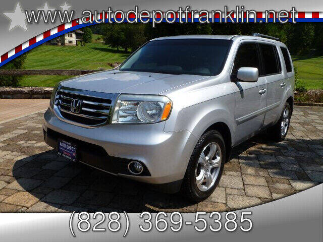 2012 Honda Pilot for sale at Auto Depot in Franklin NC