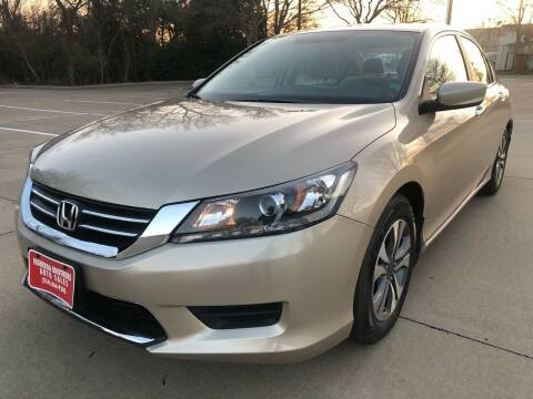 2013 Honda Accord for sale at Vemp Auto in Garland TX