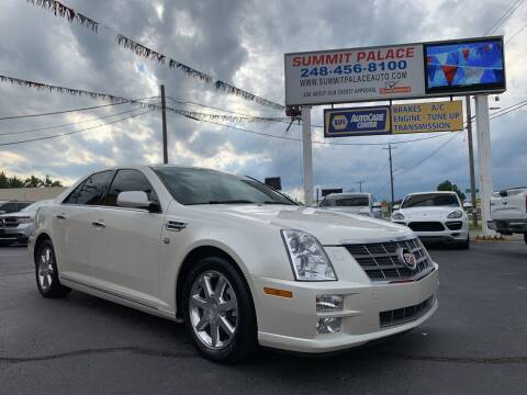 2011 Cadillac STS for sale at Summit Palace Auto in Waterford MI
