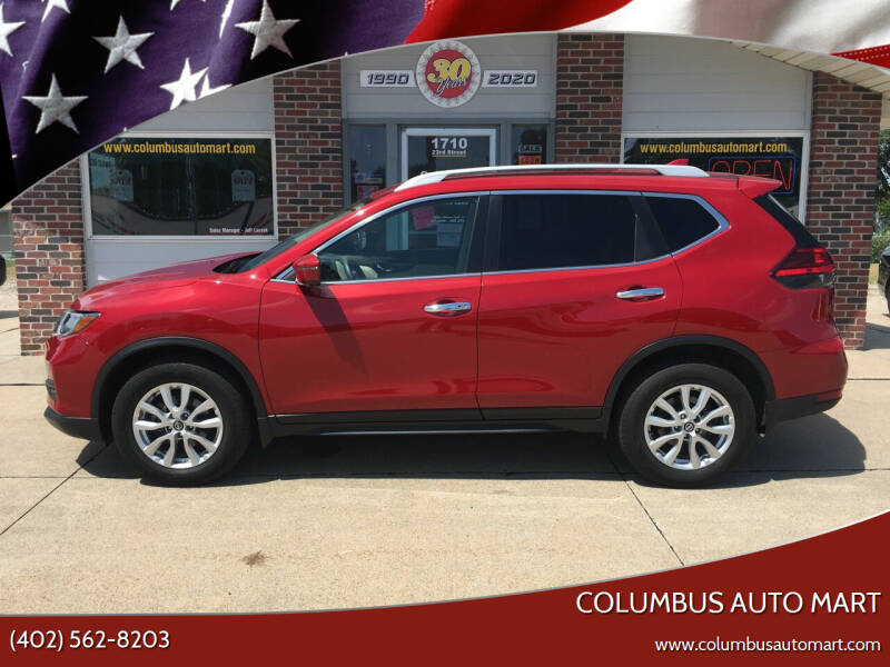 2017 Nissan Rogue for sale at Columbus Auto Mart in Columbus NE