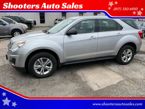 2011 Chevrolet Equinox for sale at Shooters Auto Sales in Fort Worth TX