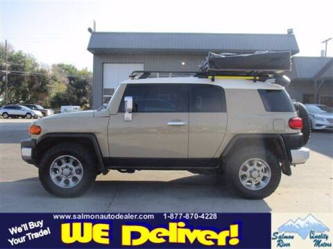 2011 Toyota FJ Cruiser for sale at QUALITY MOTORS in Salmon ID